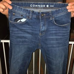 Connor Jeans - Dark Acid Wash 31R